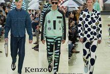 Kenzo uomo / Kenzo collezione e catalogo primavera estate e autunno inverno abiti abbigliamento accessori scarpe borse sfilata uomo.