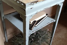 Shabby distressed painted furniture