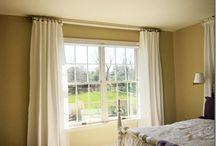 PVC curtain rod