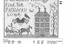 Carriage Samplers / cross stitch