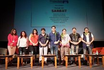 "WWI Masterclass with the Team of Sarbjit / At the ‪#‎WWIMasterclass‬ with the team of Sarbjit Movie, the team briefed‪#‎WWIStudents‬ on various aspects of the film. When asked about the process of making a biopic, Omung Kumar said, ""It's like weaving a thread through the incidents of a person's life and tying them together, taking the liberty of adding elements only to fill the gaps and never forgetting to stay true to their story."" The students also learned about the processes involved in the set designing, sound, and cinematography."