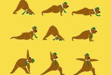 yoga / by Candace Barnthouse Spaur