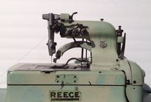 Machines, machines, machines / Different models and types of sewing machines.