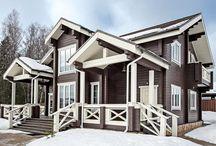 Деревянные дома проекты