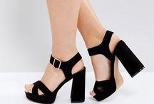 Platform wide heels