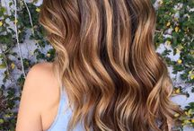 caramel & chocolate balyage