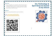 Art, Technology & Sport keep me bound to my School