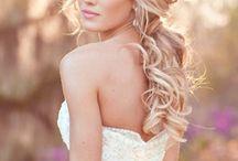 Sarah wedding hair