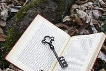 keys and books