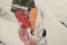 Carving the snow