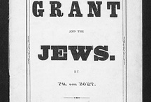 "When General Grant Expelled the Jews / On December 17, 1862, General Grant attempted to eliminate black marketeers by targeting for expulsion all Jews ""as a class,"" unleashing a firestorm of controversy. Although the order was quickly rescinded by a horrified Abraham Lincoln, the scandal came back to haunt Grant when he ran for president in 1868. Learn more in WHEN GENERAL GRANT EXPELLED THE JEWS: http://schocken.knopfdoubleday.com/2012/03/13/when-general-grant-expelled-the-jews-by-jonathan-d-sarna/"