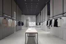 Shop clothes interior