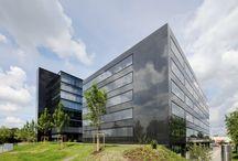CHG Bürogebäude in Weingarten mit Nero Assoluto Granit