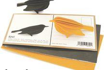 Lovi design / 3D kaarten en bomen van berkenhout