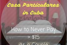 Cuba / Classic images & inspiration from travel bloggers about travel in Cuba