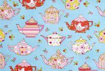 Tiddlywinks Teatime Fabrics