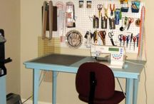 craft room ideas / by Marina Boroday