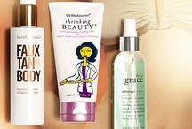 Beauty products  / by Kelly Bodnar