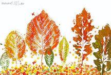 bricolage feuilles d'automne