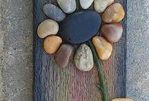 Blumen aus Steine