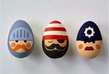 Aster eggs