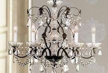 Chandeliers and lighting