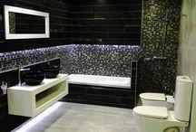 Baños ambientados / Baños Ferrum. Diseño de interiores. Sanitarios