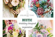 Bridal Bouquets / Inspiração para o Bouquet da noiva e das damas-de-honor.  Inspiration for Bouquet of the bride and the bridemaids