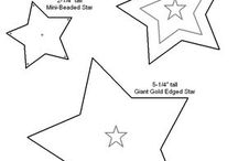 Hearts & stars patterns