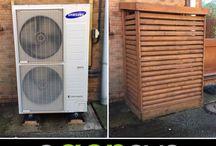 Heat pump covers