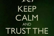Ranger's apprentice / Keep calm and trust the cloak