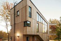 DREVENA FASÁDA / architektúra drevených fasád