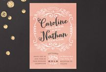 Wedding Shower Invite Board