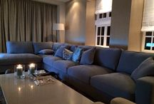 Woning gemeente Enschede Nov 2015 / Dit project bestaat uit advies voor verf, gordijnen en aansluitend meubels en accessoires alles door MaisonManon.