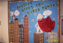 geeky lib bulletin boards / by Stacey Kahler