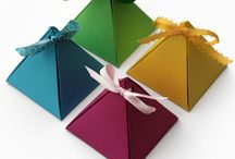 Gift boxes, gift wrapping