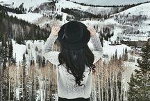 Снежная фотография