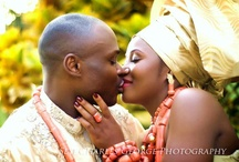 Nigerian couple in Traditional Attires