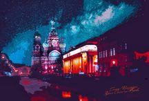 Санкт-Петербург / Красота Санкт-Петербурга . Графика. фото