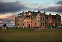 Golf club houses