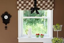 window treatments / by Jennifer Fritz
