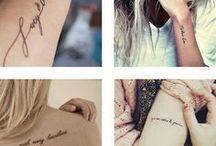 teksti tatuoinnit