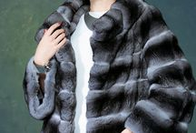Chinchilla furs / #chinchilla #furs and elegant #fashion