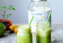 smoothies, coctails, drinks