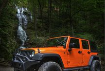 jeep stuff / by Brandon Clingan