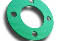 Gaskets / we cut gaskets from a full range of materials. You can view the specifications on many of the common gasket materials we carry at www.gasketis.cc & www.gasketing.net .