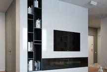 TV seinä