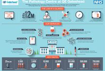 infographics / A collection of infographics from our hospital