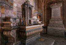 Palácios, castelos abandonados