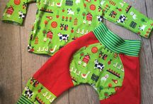 Sewing cloths for children